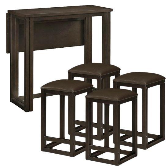Pub Table Set - KITCHEN : 450ft Small SPACE : Pinterest