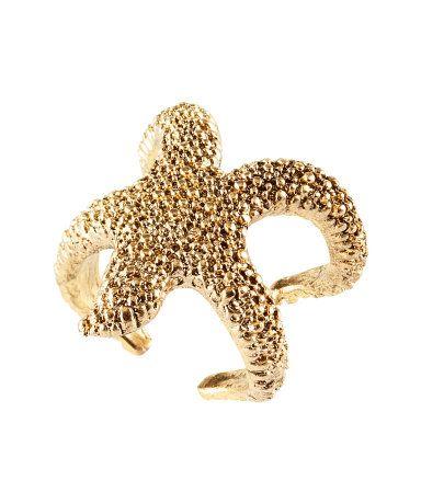 Beautiful starfish ring
