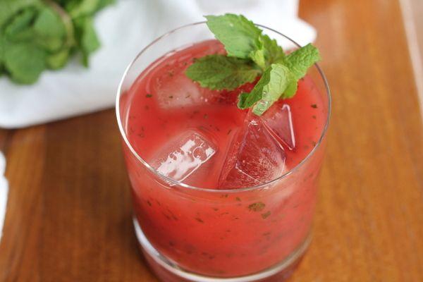 Watermelon Mint Lemonade (and other indulgences) - Inquiring Chef
