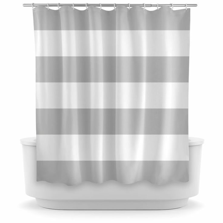 Organic Cotton Shower Curtain Window with Sheer Fabric S