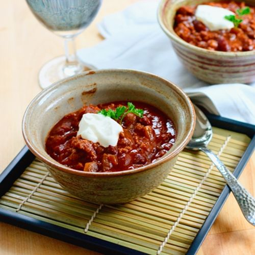 Chocolate and Dark Beer Chili | Fab Foods | Pinterest
