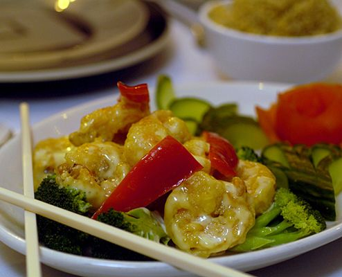 ... Grand Marnier prawns (a Frank Bruni favorite) have proven to be the