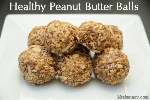 Healthy Peanut Butter Balls Recipe | Deliciousness in desserts | Pint ...