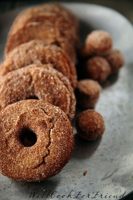 Spiced Cider Doughnuts | by Will Cook For Friends