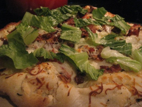 Grilled BLT Pizza with Blue Cheese | Food: Pizza | Pinterest