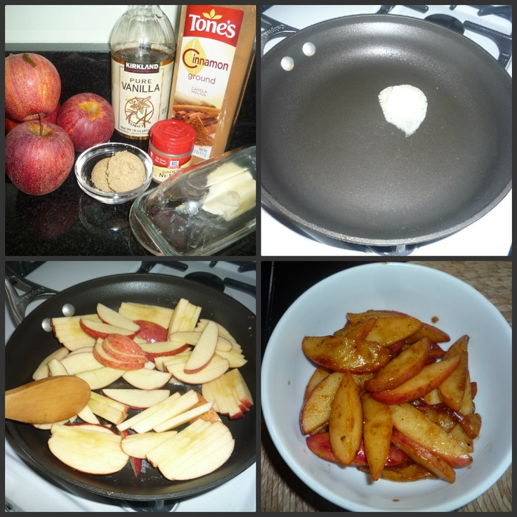 Sauteed Apples Recipe — Dishmaps