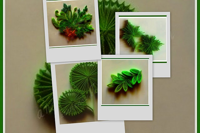 Leaves Paper Quilling Tutorial