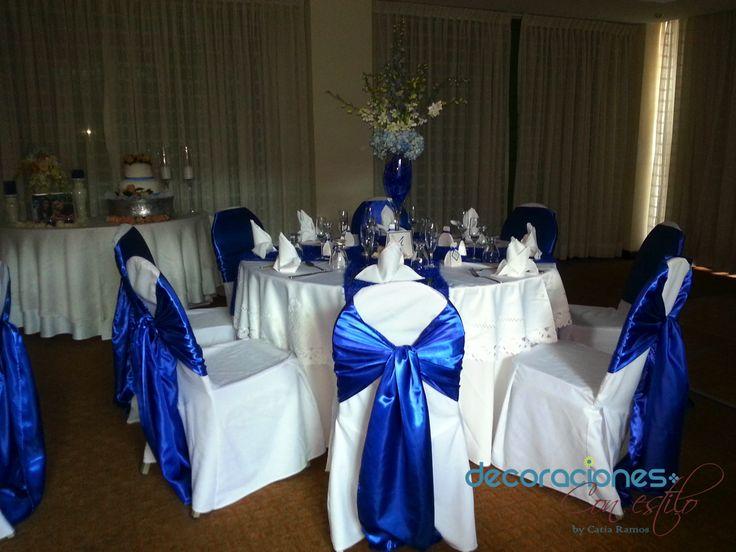 Bodas Decoracion Azul ~ Decoraci?n boda en Color Azul  Decoraci?n Bodas  Pinterest