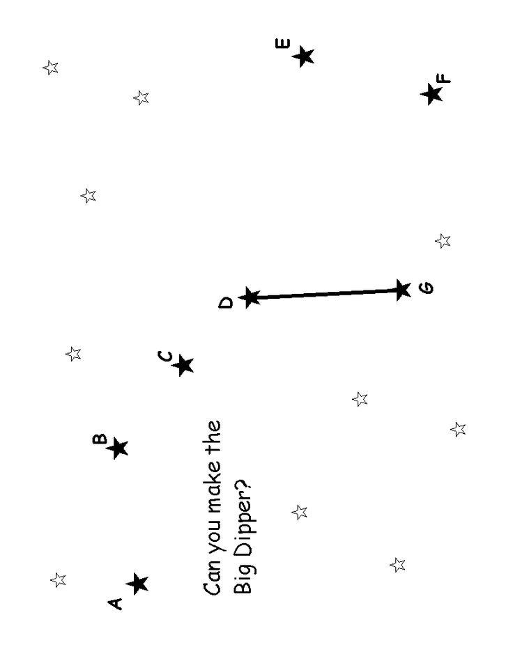 Big Dipper Dot to Dot | |LIBRARY| Printables | Pinterest