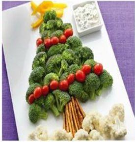 Christmas crudités | holidays | Pinterest