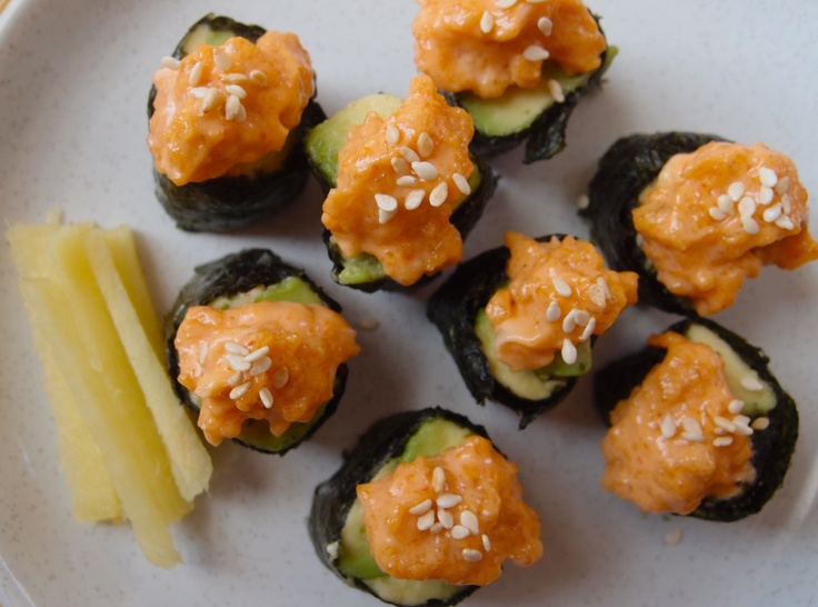 Spicy Mayo For Sushi Recipes — Dishmaps
