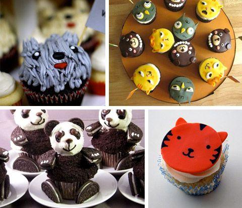Cupcake Decorating Ideas Animals : #cupcake Cake Decorating Pinterest