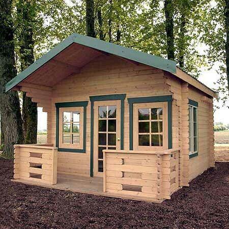 Cabin kit tiny house Campsite Ideas Pinterest