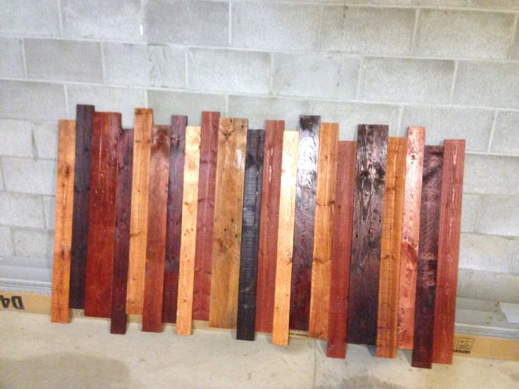 King size headboard made out of pallets bedroom ideas for How to make a king size headboard out of pallets