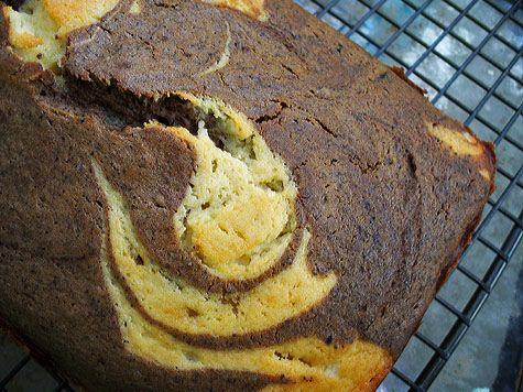 Vanilla and Coffee Marble Pound Cake | The Yummy Stuff | Pinterest