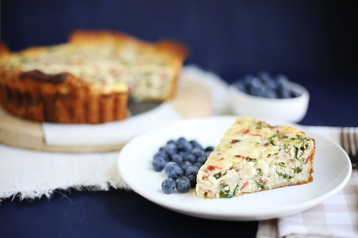 Easy Kale Quiche | To cook | Pinterest