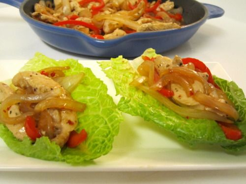 Chicken Stir Fry Wraps | Deliciousness | Pinterest