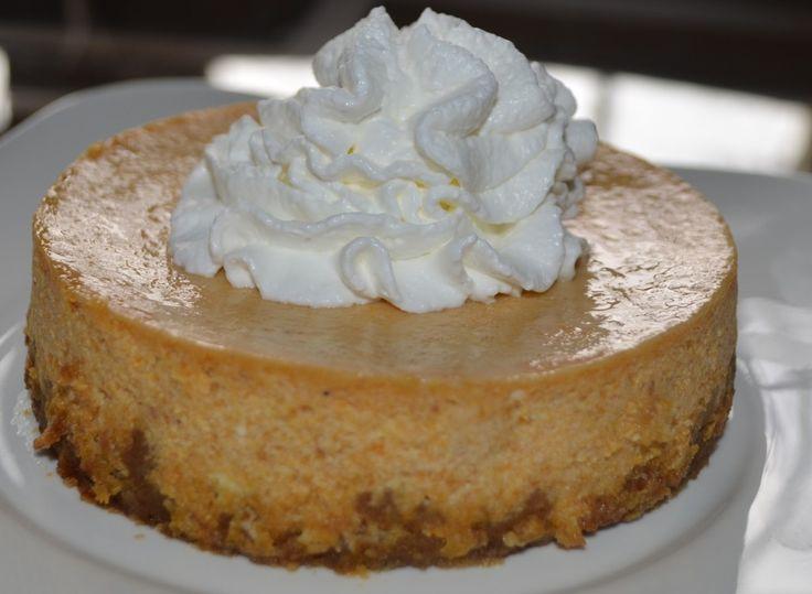 Gluten free pumpkin pie cheesecake | Gluten Free | Pinterest