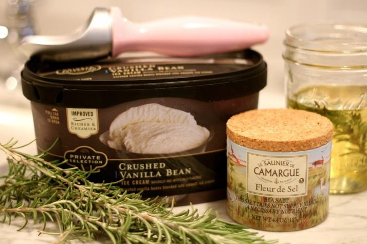 rosemary olive oil ice cream