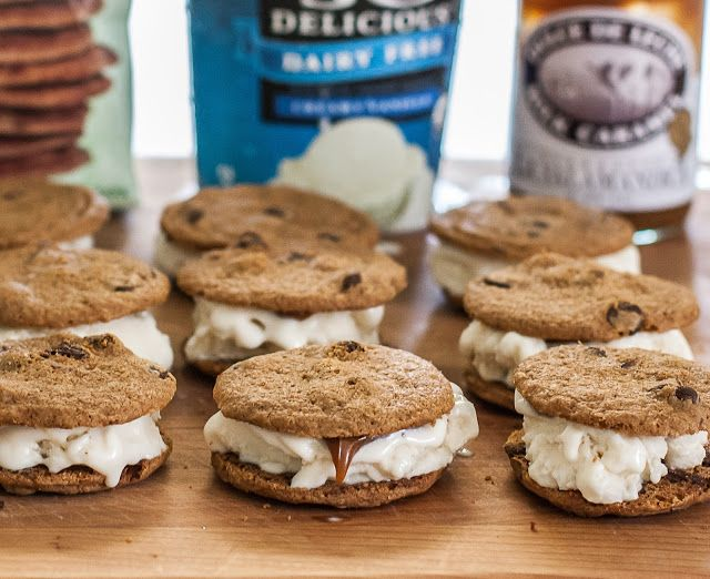 Grubarazzi: Dulce de Leche Ice Cream Cookie Sandwiches (Gluten Free)