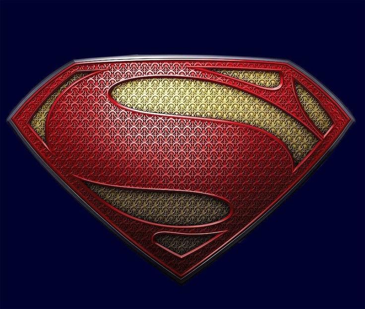 Man of steel logo png
