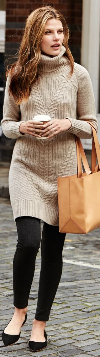 Cozy Fall Street chic