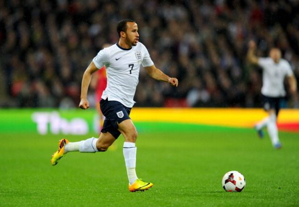 Andros townsend of england in action during the fifa 2014 world cup