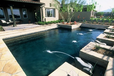 Switching To A Black Bottom Pool Home Pinterest