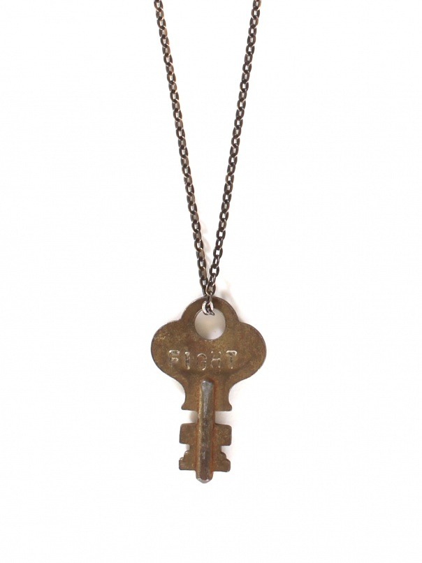 fight key necklace by the giving style