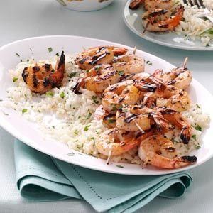 Grilled Shrimp Scampi | Recipe