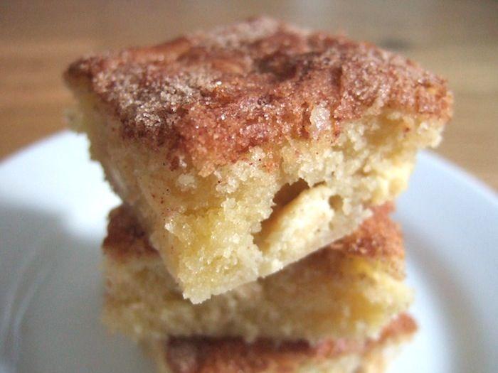 cinnamon blondies | Cakes | Pinterest