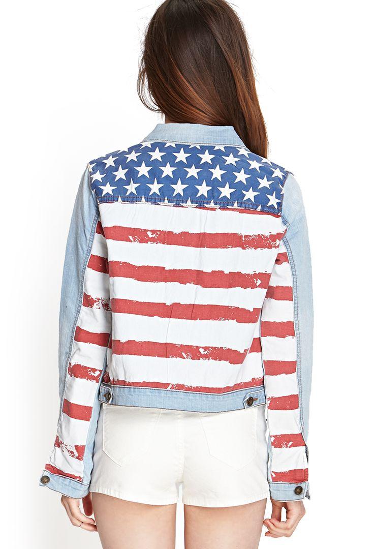 us flag jacket