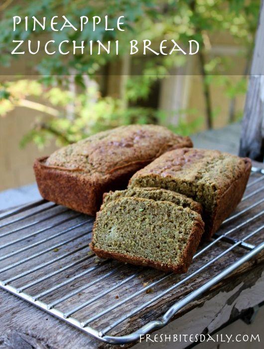 pineapple zucchini bread to remember | [Recipes] Uncategorized | Pi ...