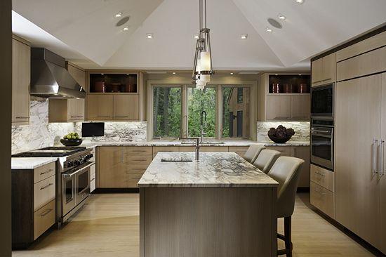 rift cut white oak cabinets kitchen design pinterest