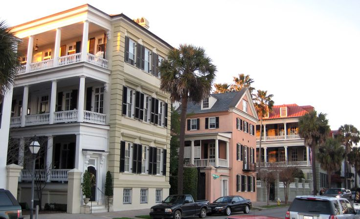 Rainbow row charleston sc places pinterest for Charleston row houses