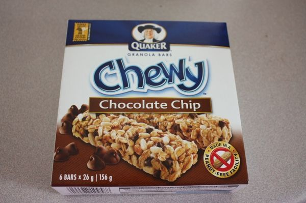 Chewy Chocolate Chip Granola Bars - Busy But Healthy