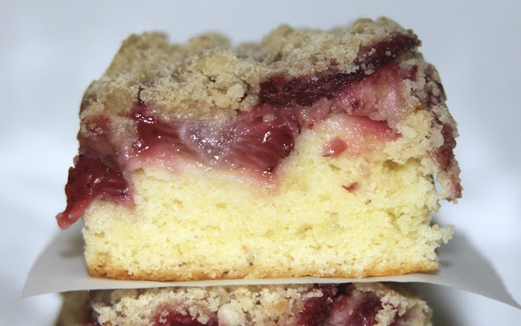 Strawberry Coffee Cake | Deserts | Pinterest
