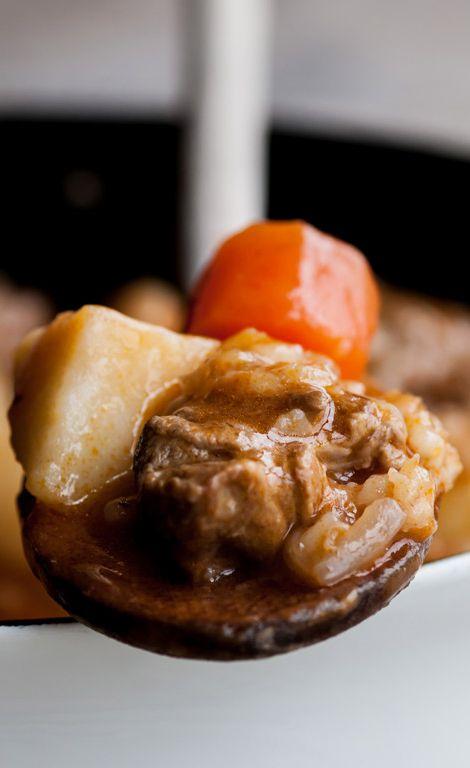 Lamb, potato and pearl barley stew | Recipe