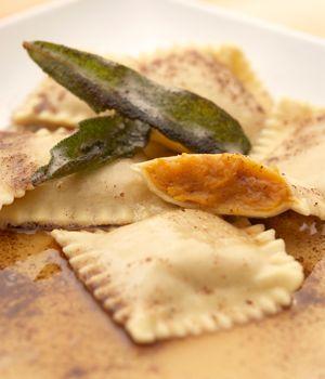 Brown Butter Sage Ravioli | noodles | Pinterest