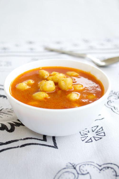 Moroccan Chickpea Soup   Arabic Cuisine   Pinterest