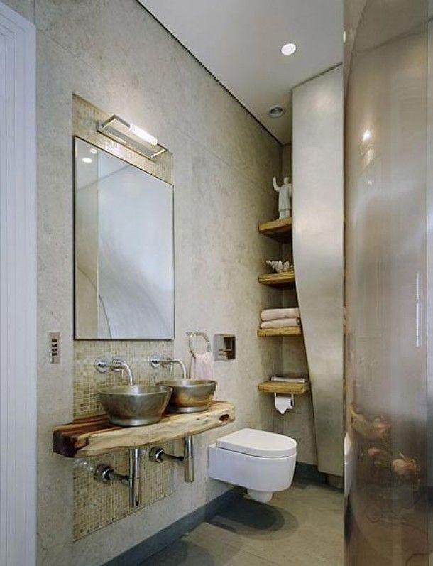 Badkamer Laten Betegelen ~ Natuurlijke badkamer  Badkamer  Pinterest