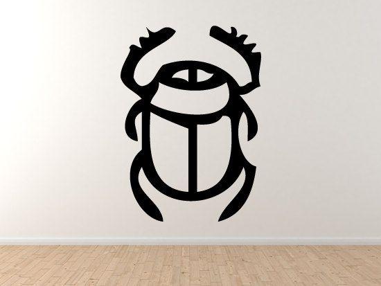 Egyptian Symbols 1 Scarab Beetle Hieroglyph by jamesdupree on Etsy       Egyptian Symbols Scarab