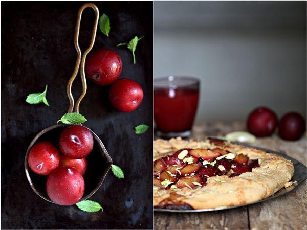 Wholewheat Plum Frangipane Galette | Baking | Pinterest