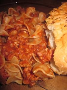 Sausage Bolognese: saturday | Food, tried and true! | Pinterest