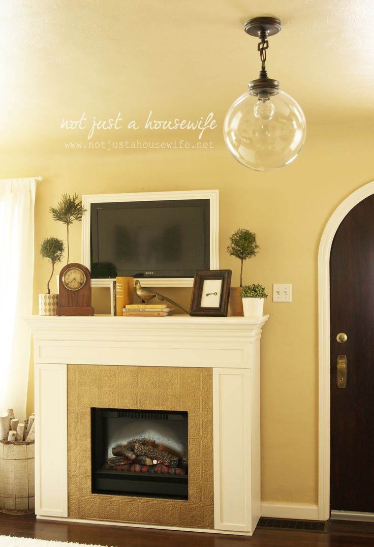framed tv home decor pinterest