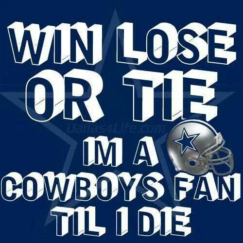 win lose or tie dallas cowboys