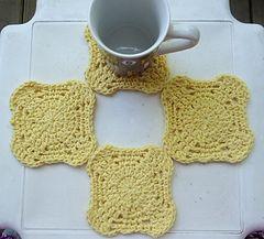 Pinwheel Coaster - knitted-patterns.com