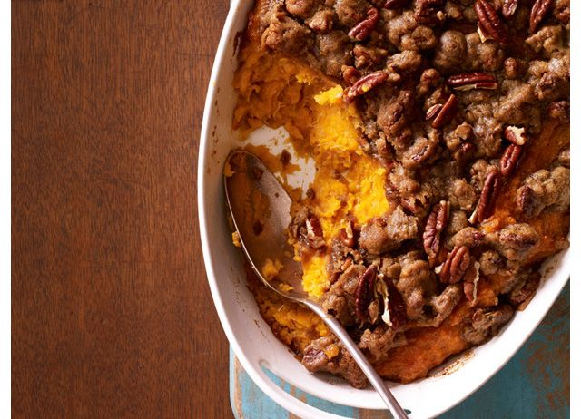 Sweet potato & banana mash w/ honey: delicious! Expands when baking ...