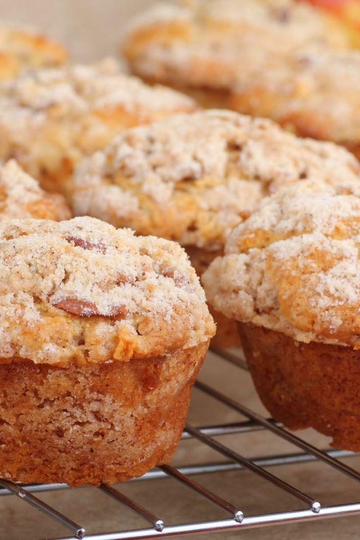 Apple Strudel Muffins.