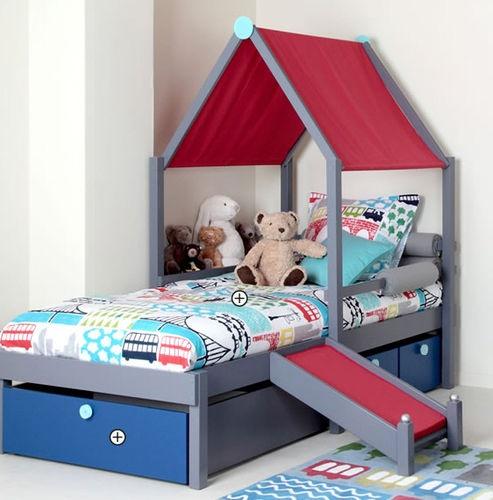 Kids tent bed boys vibel make for john franklin for Canopy for boys bed